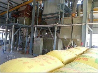 熟化蒸汽全脂玉米(大豆)生产车间
